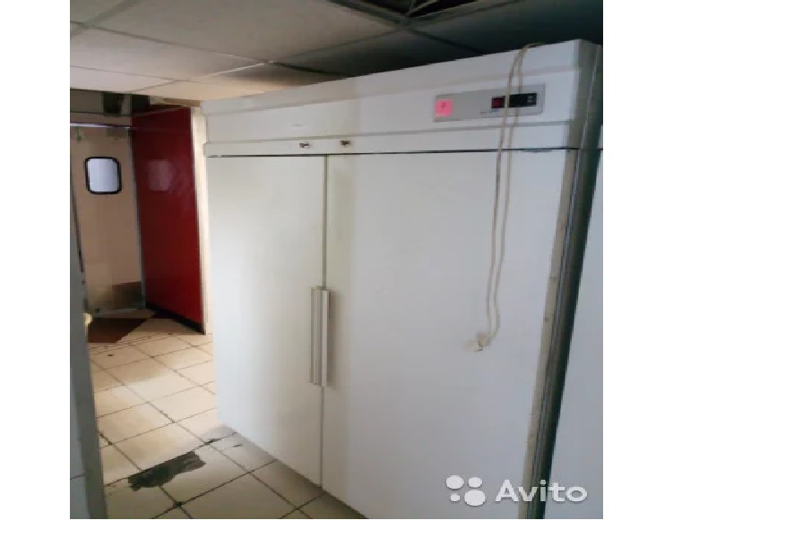 Шкаф морозильный двух дверный Polair