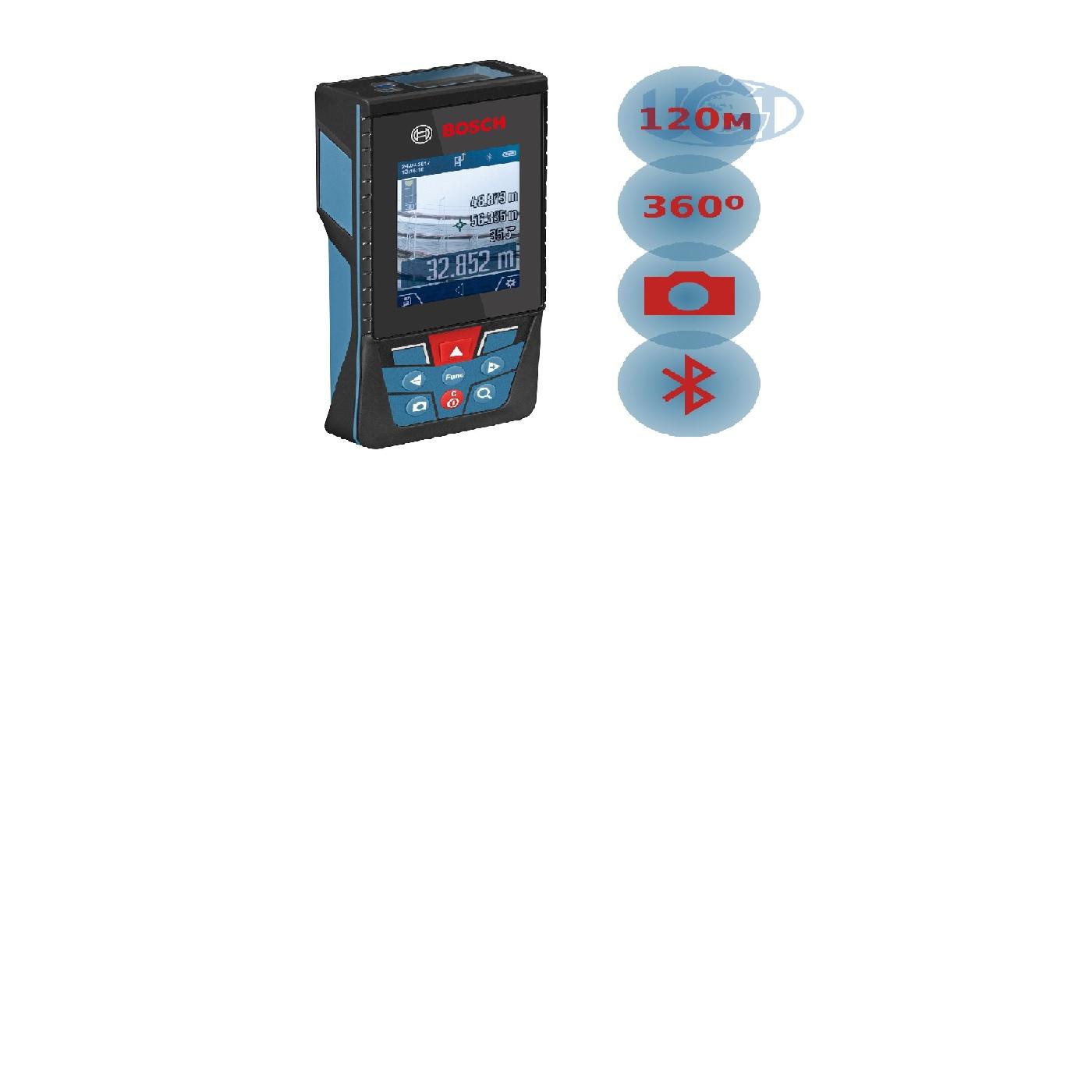 Лазерный дальномер Bosch GLM120C