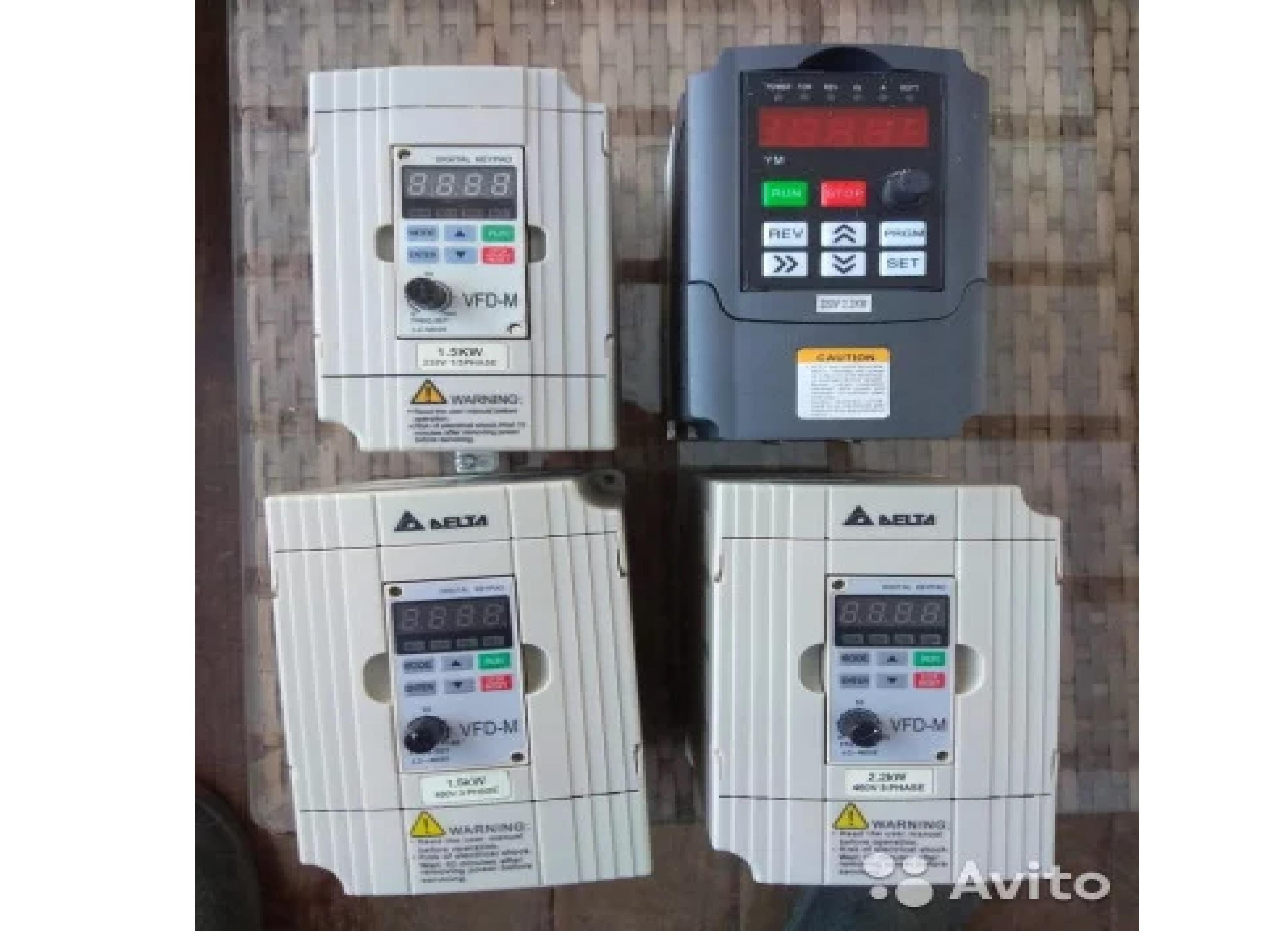 Частотные преобразователи инверторы на 220 и 380