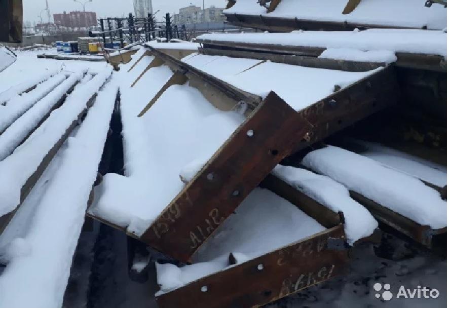 Подкрановые пути б.у.под мостовой кран гп 10-15т