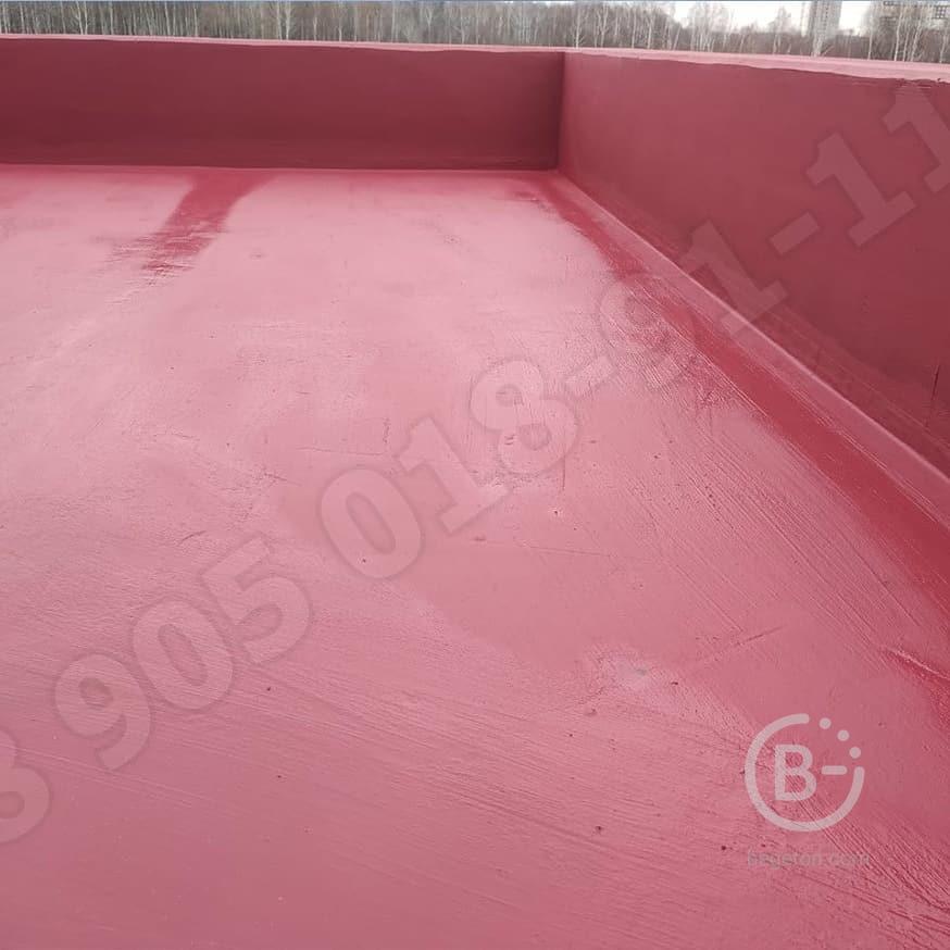 Мастика гидроизоляционная ( жидкая кровля , жидкая гидроизоляция , резина ) ЛКМ СССР