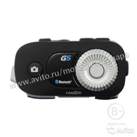Гарнитура на шлем с камерой G5 Airide Bluetooth