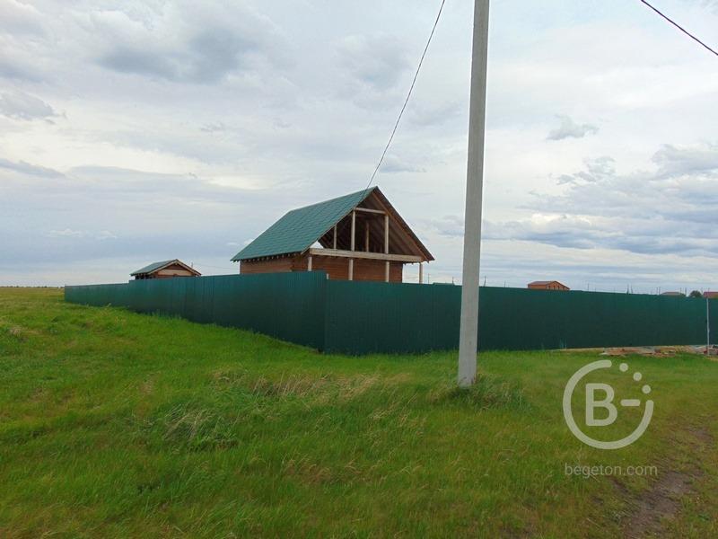 Новый дом на первой береговой линии в д. Знаменка у озера Карагуз.