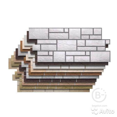Фасадные панели Деке Stein 6834