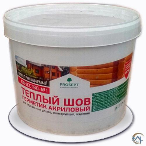 Герметик Просепт (Prosept) Теплый шов 15 кг, белый