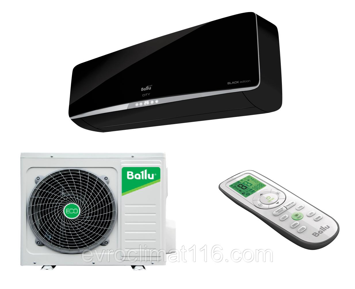 Сплит система Ballu BSE 18HN1 серии City Black Edition