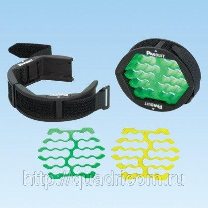 Приспособление для жгутования кабеля CBOT24K, Panduit (инструмент для укладки кабеля в жгут)
