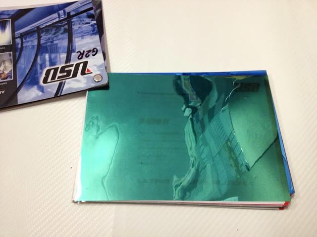 Пленка архитектурная USB S508H зеленый серебро