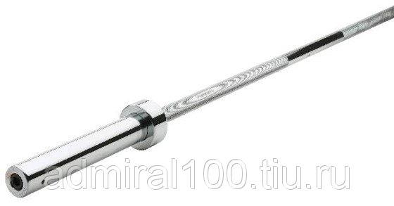 Гриф олимпийский d=51 мм L 2200 мм (предельный вес 280 кг)
