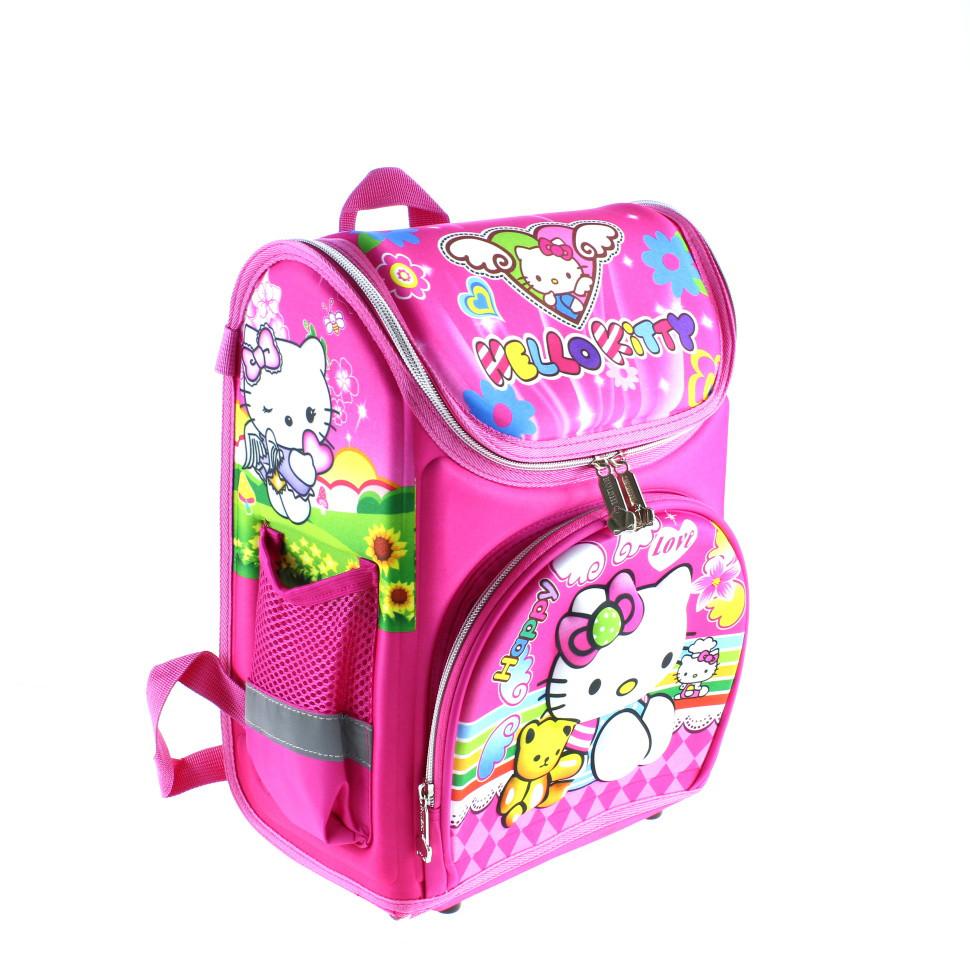 Рюкзак 1 3 класс с ортопедической спинкой Hello_Kitty