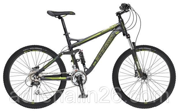 Велосипед Stinger 26 Magnum 20 18,3 зеленый M313M410M310