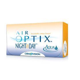 Контактные линзы Air Optix Night Day Aqua , диопт  4, рад 8,4