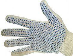 Перчатки хб с ПВХ 10 класс вязки