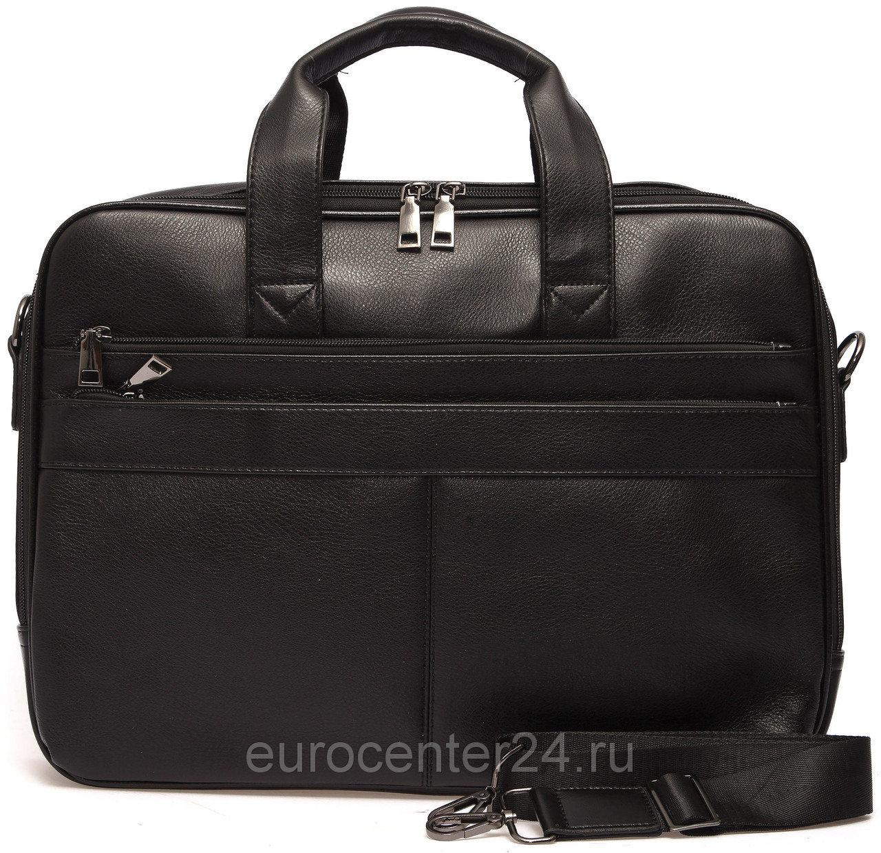 Мужская черная сумка для документов