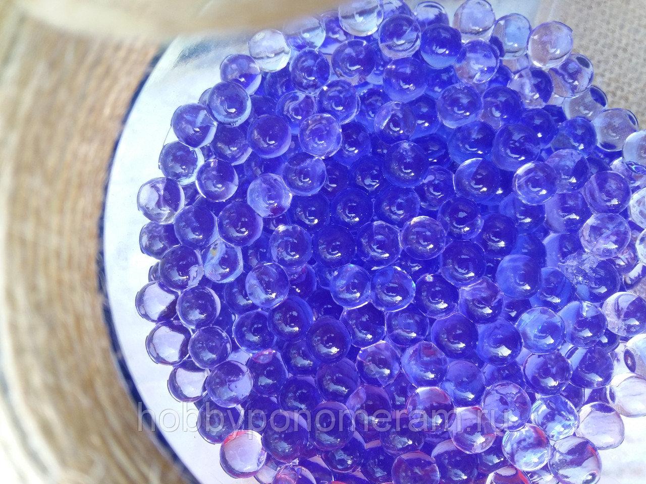 Орбиз цветные шарики растущие в воде 10g фиолетовый