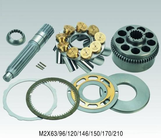 Гидромотор поворота Kawasaki M2X 6396120146170210   запчасти