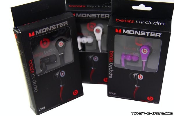 Наушники Monster Beats By Dr Dre Tour