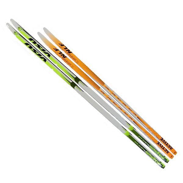 Лыжи пластиковые 170см