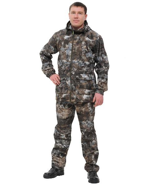 Костюм для охоты и рыбалки «Свелл» (полофлис, тундра) КВЕСТ (подкладка флис)