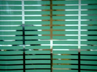 Декоративная пленка прямоугольник зеленый 6х46мм PF 03 2