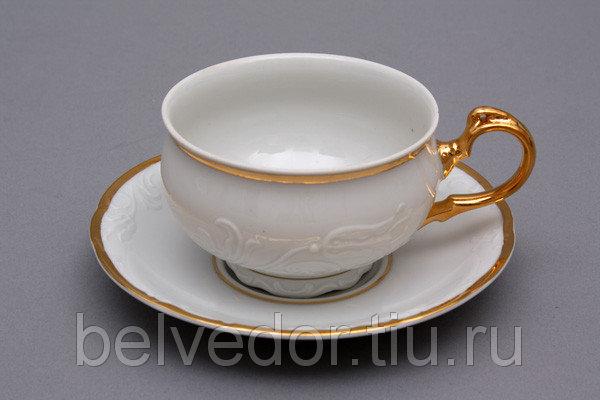 Набор для чая Тулип 7500(чашка165мл+блюдце) на 6перс12пред