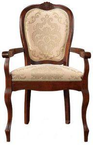 Кресло из дерева артPR AC Princess (темный орех)
