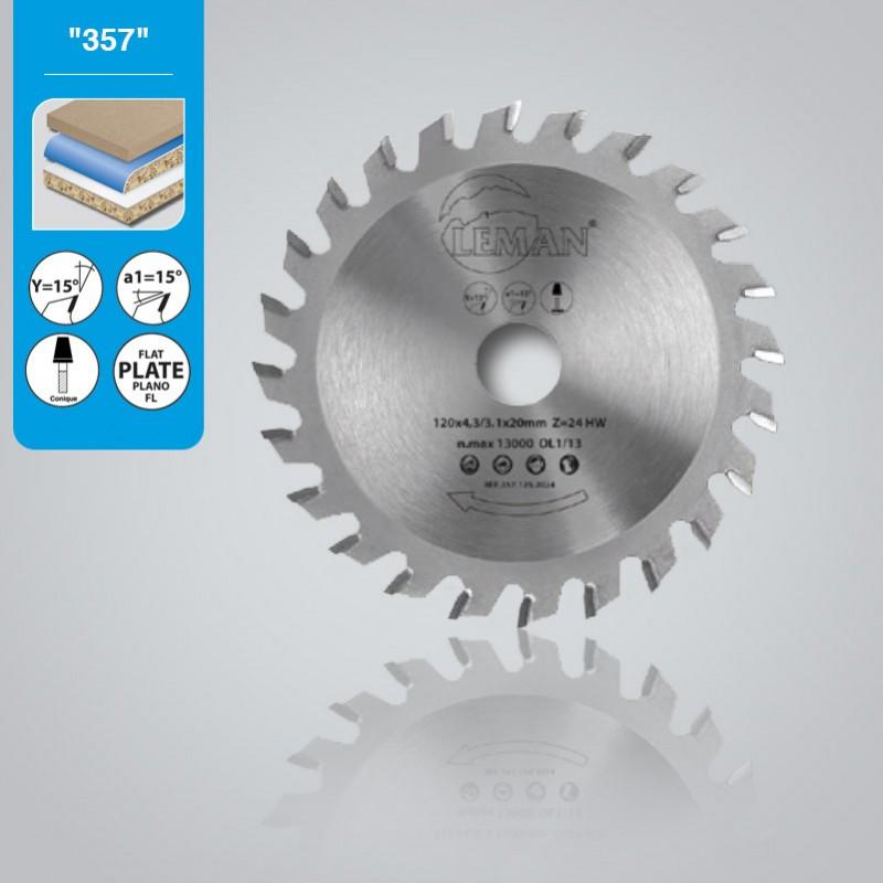 Конический пильный диск Leman 357