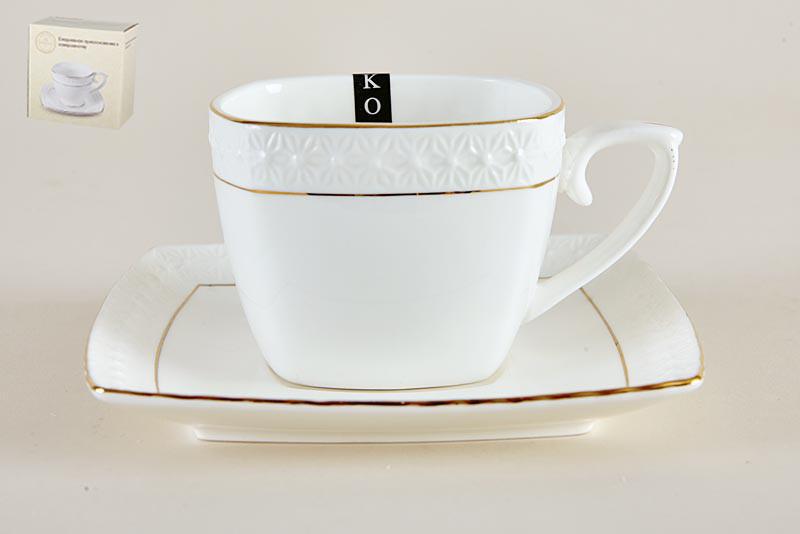 Пара чайная 240мл фквадр пу CS507009 A снежная королеваз