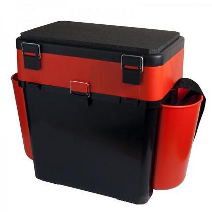 Ящик зимний FishBox (19л) зеленый или оранжевый Helios