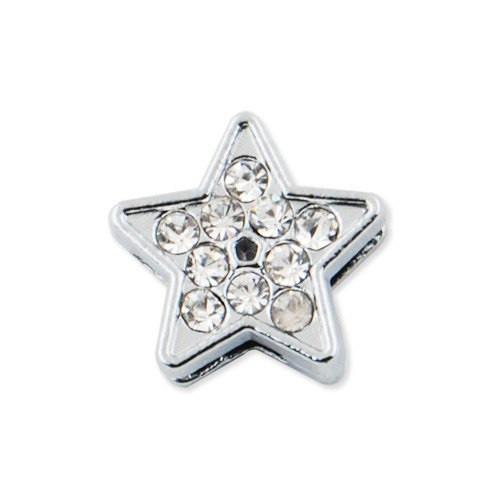 Ползунок звезда для именного браслета