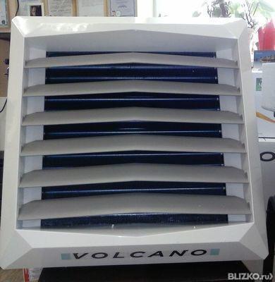 Воздушно отопительный агрегат Volcano VR2 с двигателем ЕС