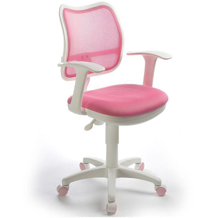Кресло Бюрократ CH W797PKTW 13A для оператора детское, цвет розовый