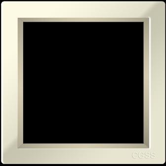 Однопостовая рамка бежевая CGSS Практика PL P101 BGG