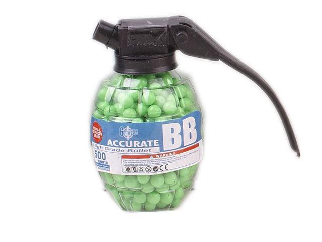 Пульки для детского оружия 6 мм Граната 500шт