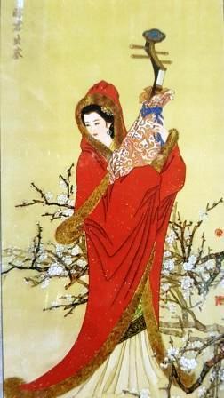 Картина стразами Ван Чжаоцзюнь