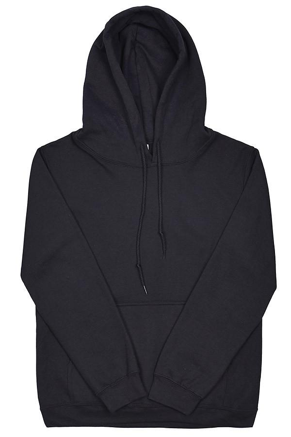 Толстовка с капюшоном  Gildan  88500 Heavy Blend Adult Hooded Sweatshirt  чёрный  (M)