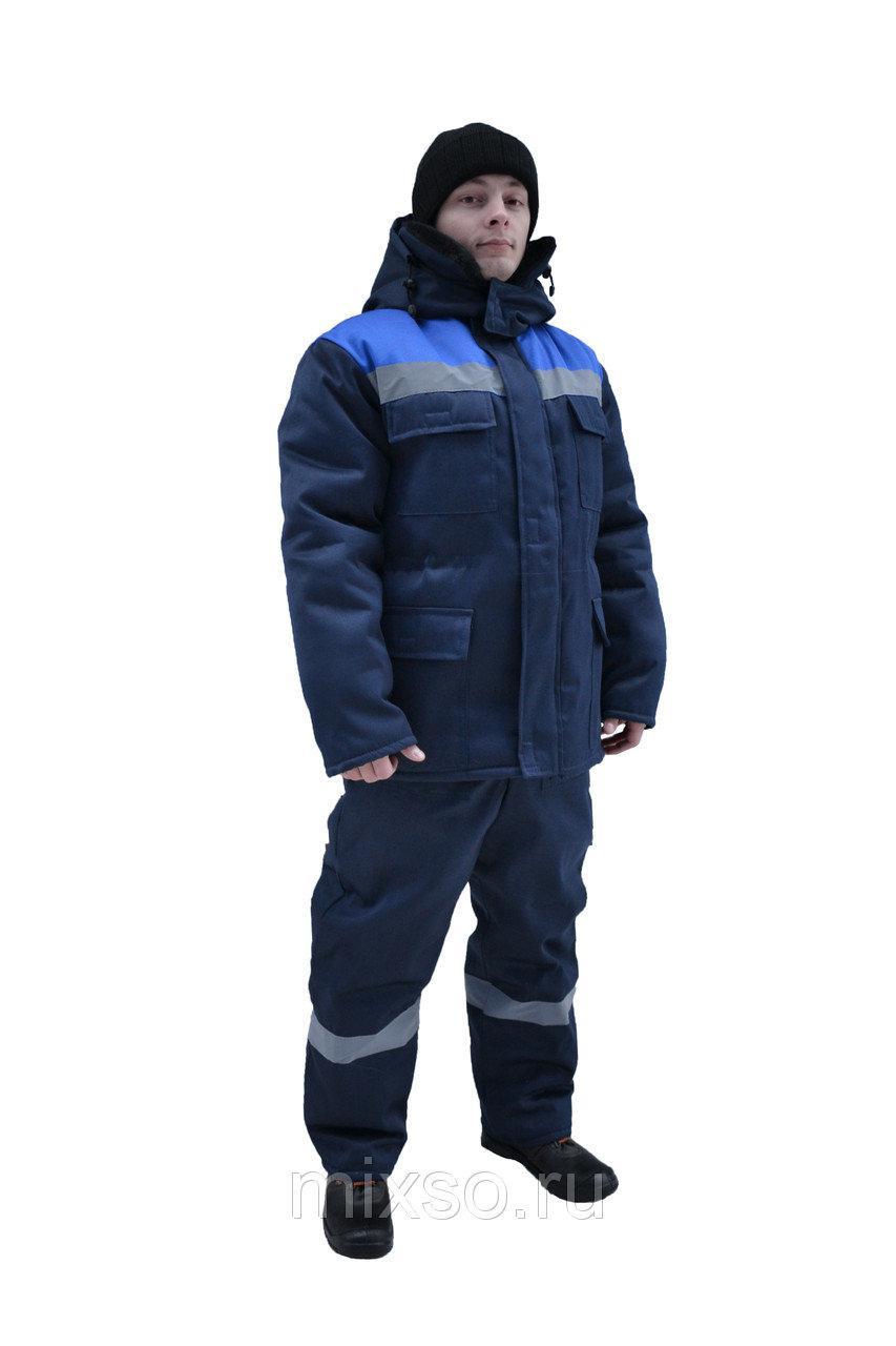 Костюм «Вьюга» зимний (куртка+полукомбинезон из грета, на двойном синтепоне