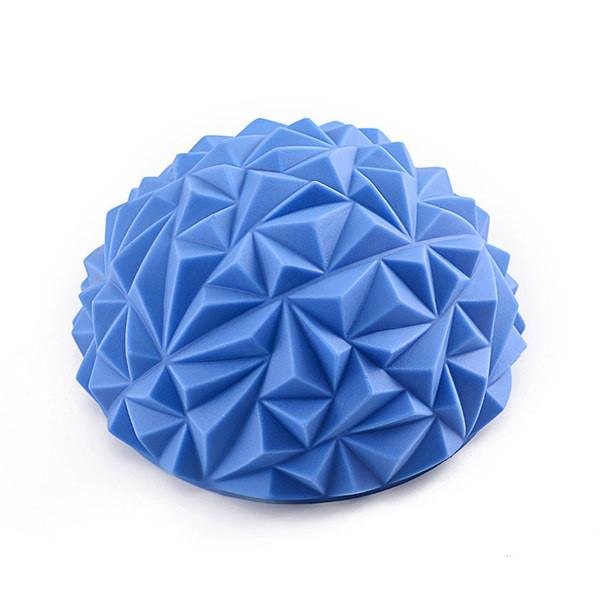 Полусфера надувная с массажными выступами треугольник d 16,5см х 7см