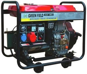 Дизельный генератор Green Field 5 GF ME3