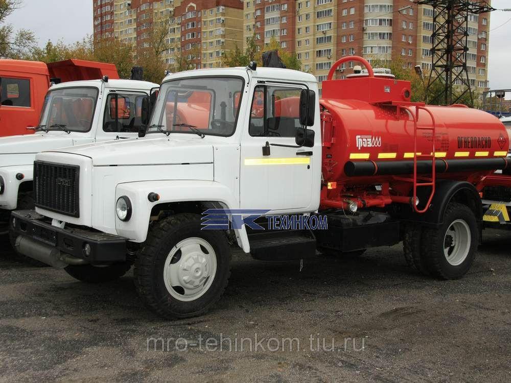 Автопливозаправщик АТЗ 4,9 Газ 3309 мод 36135 011