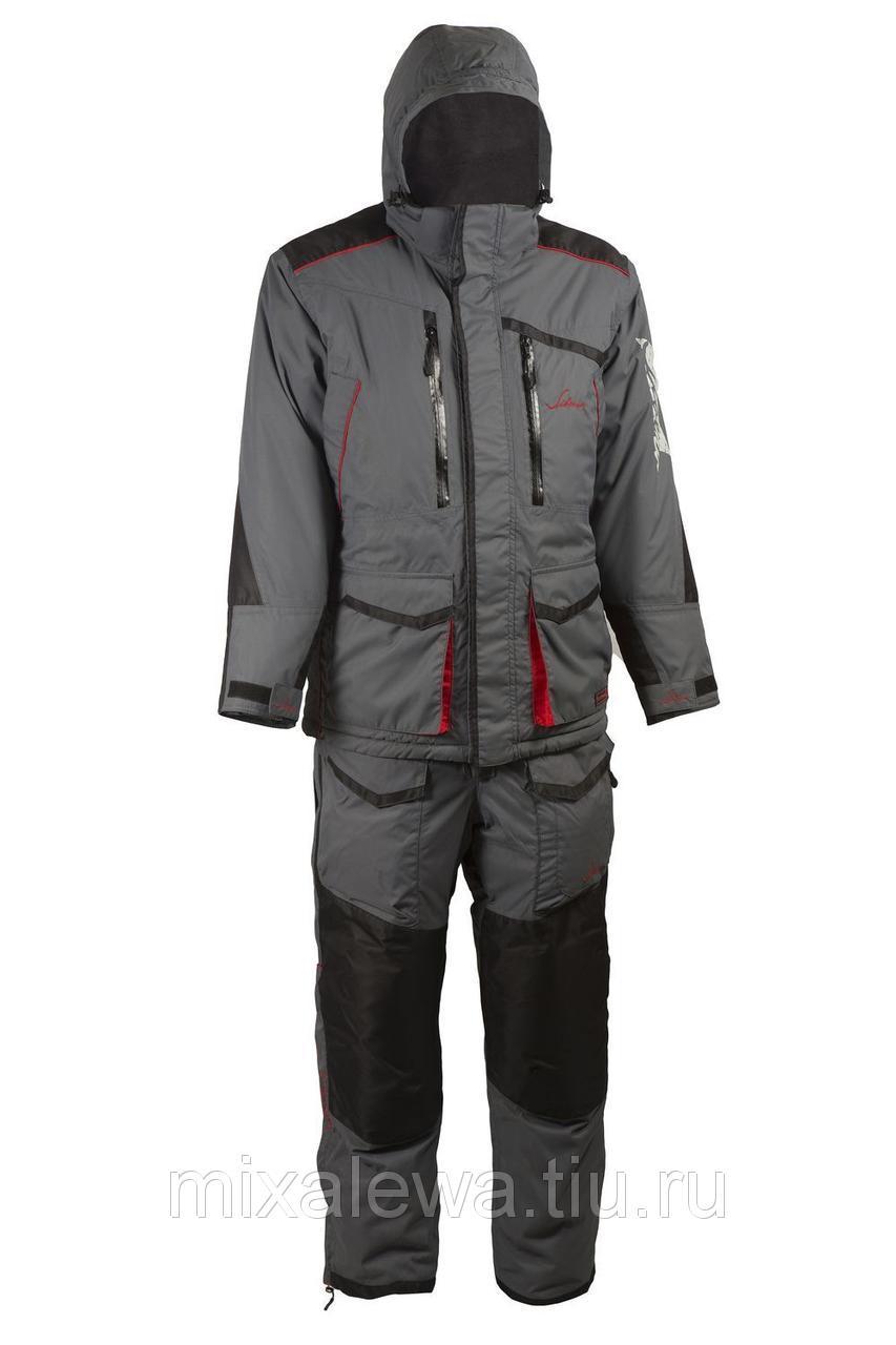Костюм зимний Siberia серыйчерный тк Breathable р5254 (Huntsman)
