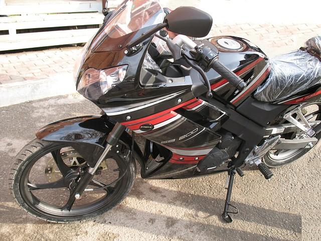 Мотоцикл спортбайк Stels SB 200