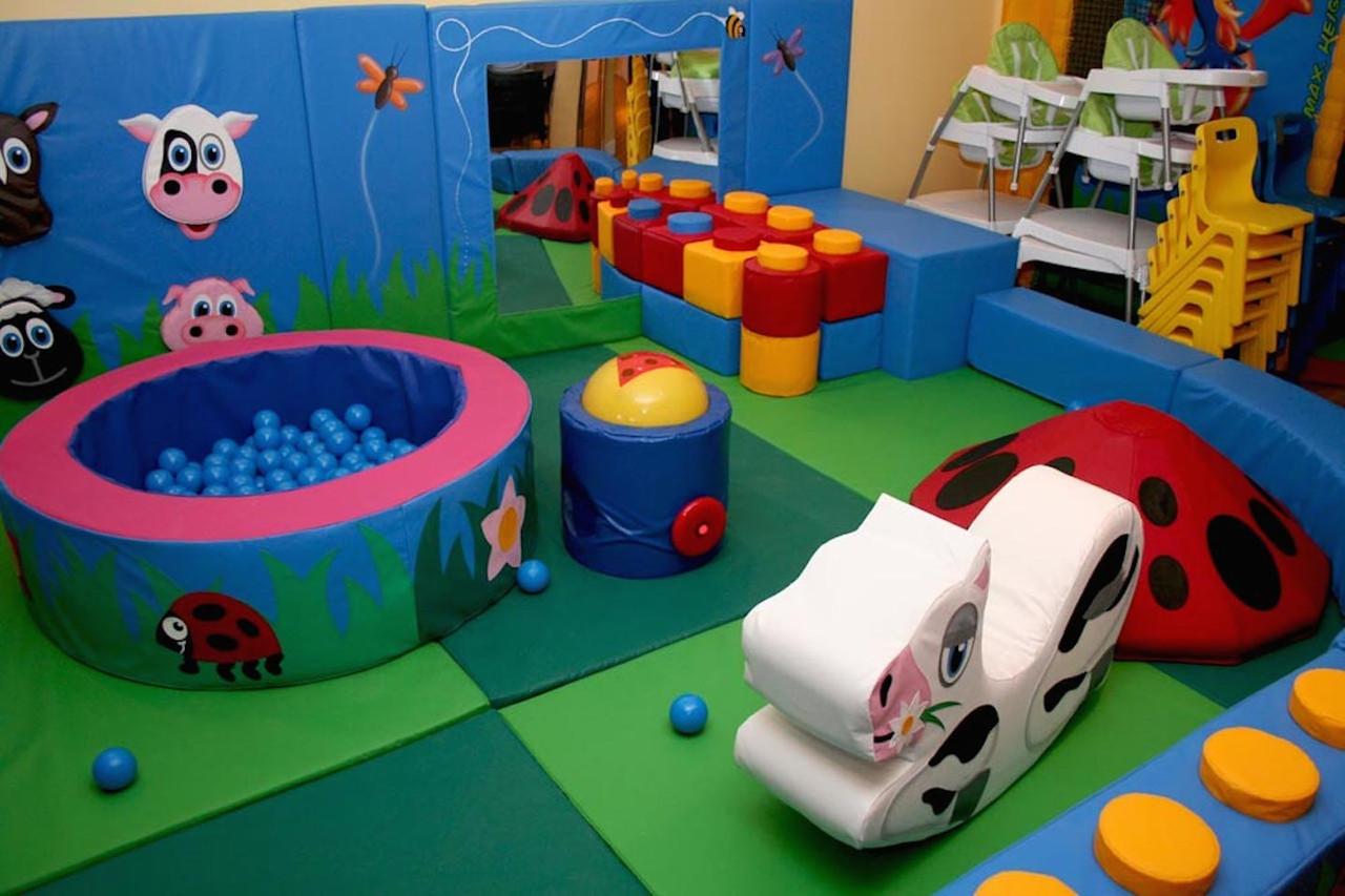 Игровые детские комнаты