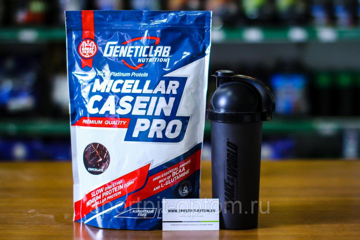 Протеин Geneticlab Casein Pro 1 кг