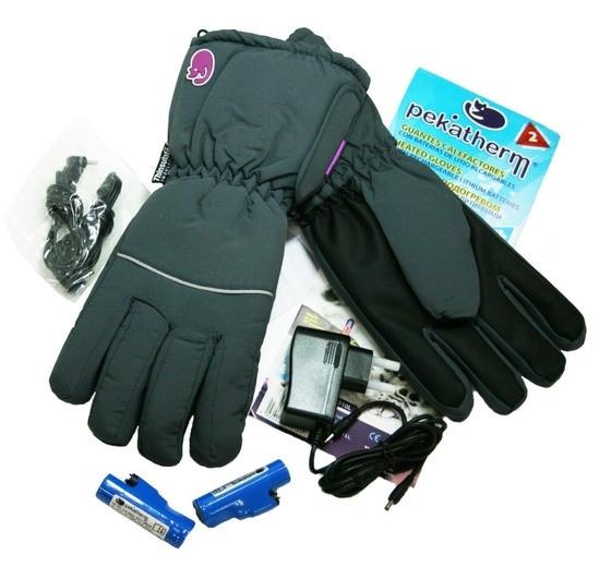 Непромокаемые перчатки с подогревом модель GU910