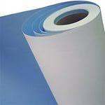 Широкоформатная печать Бумага Blue Back, 120 гм2 (на голубой подложке, для наклеивания на щиты)