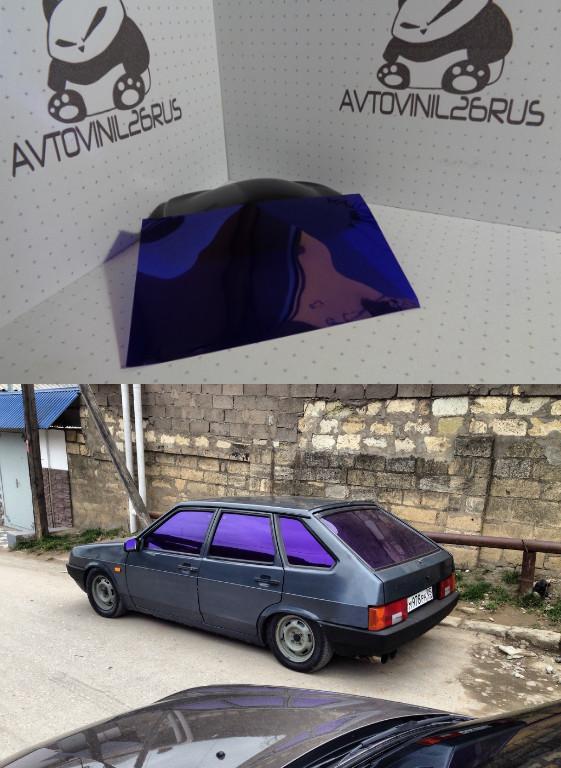 Архитектурная пленка Аля дубай фиолетовый