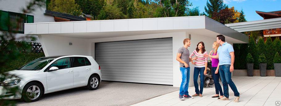 Гаражные ворота TREND 2500х2500 ручное управление, RAL 8017 51