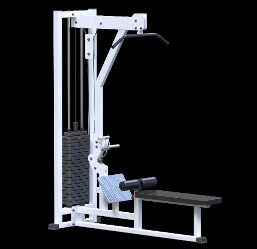 Вертикально горизонтальная тяга AR046 (стек 100кг)