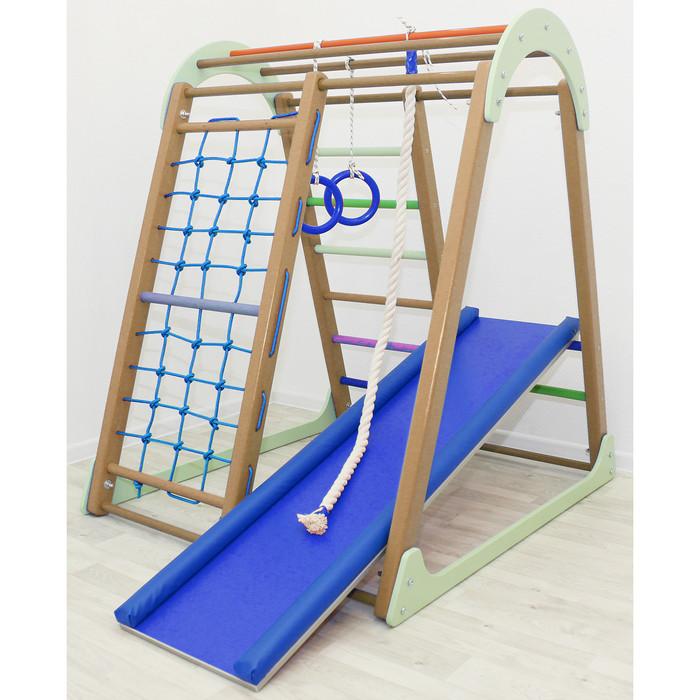 Детский спортивный комплекс Tiny Climber, цвет шоколад